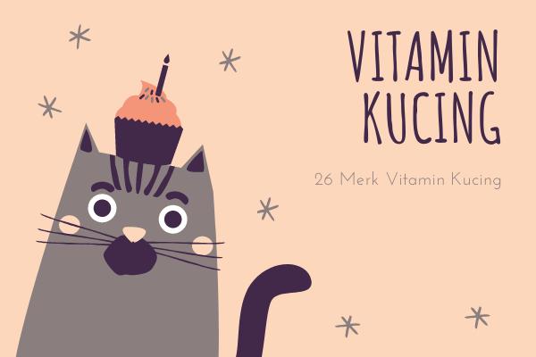 26 Merk Vitamin Kucing