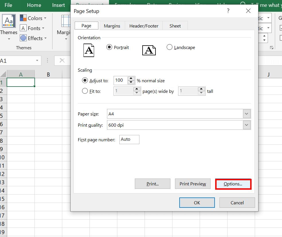 Cara Mengatur Ukuran Kertas F4 di Microsoft Excel 1